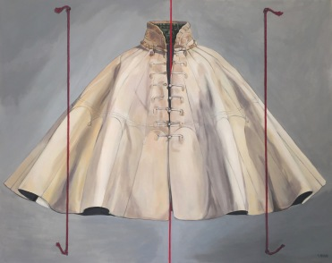 'Pilgrim's Cloak' 100 x 80 cm acrylic on canvas